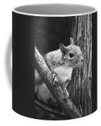 Squirrel Black And White Coffee Mug