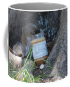 Squirrel Eating Coffee Mug