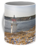Squirrel Point Lighthouse Kennebec River Maine Coffee Mug by Keith Webber Jr