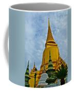 Sri Lanka Pagoda At Grand Palace Of Thailand In Bangkok Coffee Mug
