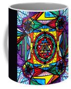 Sri Yantra Coffee Mug by Teal Eye  Print Store