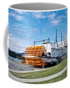 Ss Klondike Sternwheeler From Stern On The Yukon River In Whitehorse-yk Coffee Mug