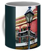 St. Ann And Chartres Nola  Coffee Mug