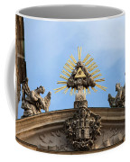 St Anne's Church In Budapest Architectural Details Coffee Mug