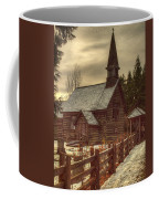 St Anne's Church In Winter Coffee Mug