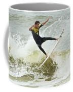 St Augustine Surfer Two Coffee Mug