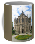 St Barbaras Cathedral Kutna Hora Czech Republic Coffee Mug