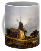St Benets Abbey And Mill, Norfolk, 1833 Coffee Mug