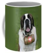 St. Bernard Dog Coffee Mug