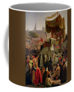 St Bernard Preaching The Second Crusade In Vezelay Coffee Mug