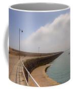 St Catherine's Breakwater - Jersey Coffee Mug by Joana Kruse