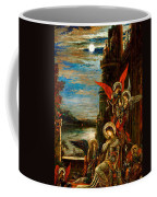 St Cecilia The Angels Announcing Her Coming Martyrdom Coffee Mug by Gustave Moreau