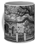 St. Charles Ave. Mansion 2 Bw Coffee Mug