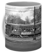 St. Charles Ave. Streetcar Monochrome Coffee Mug