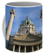 St Charles Church Vienna Austria Coffee Mug