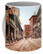 St Charles Street New Orleans 1900 Coffee Mug by Unknown