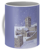 St David S Cathedral In The Snow Coffee Mug by Huw S Parsons