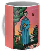 St. Francis Animal Saint Coffee Mug by Victoria De Almeida