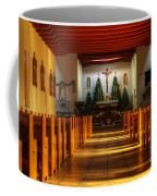 St Francis De Paula Mission Tularosa Coffee Mug by Bob Christopher