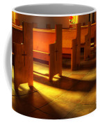 St Francis De Paula Shadow And Light Coffee Mug by Bob Christopher