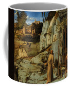 St Francis Of Assisi In The Desert Coffee Mug