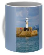 St Ives And Godrevy Lighthouses Cornwall Coffee Mug