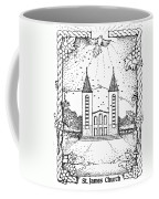 St James And Dove Coffee Mug