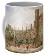 St. Johns College, Cambridge, 1843 Coffee Mug