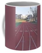 St Josephs University Track Coffee Mug