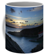 St Justinian Sunset Coffee Mug