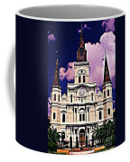 St Louis Cathedral In New Orleans Coffee Mug