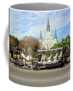 St Louis Cathedral New Orleans Coffee Mug
