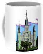 St Louis Cathedral Poster 2 Coffee Mug