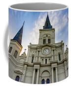 St Louis Cathedral Twilight Coffee Mug