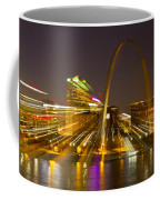 St Louis Skyline With Special Zoom Effect Coffee Mug
