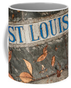 St Louis Street Tiles In New Orleans Coffee Mug