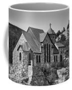 St Malo Chapel On The Rock Colorado Bw Coffee Mug
