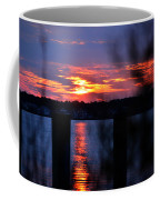 St. Marten River Sunset Coffee Mug
