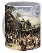 Saint Martin Dividing His Cloak London Coffee Mug