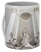 St Michael Church Sculptures In Budapest Coffee Mug by Artur Bogacki