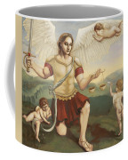 St. Michael The Archangel Coffee Mug by Shelley Irish
