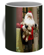 St Nick Teddy Bear Coffee Mug by Jon Berghoff