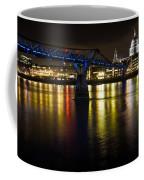 St Pauls And Millenium Bridge Coffee Mug