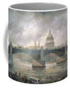 St. Paul's Cathedral From The Southwark Bank Coffee Mug