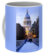 St. Paul's Cathedral London At Dusk Coffee Mug