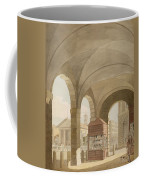 St. Pauls, Covent Garden C.1765-75 Graphite And Wc On Paper Coffee Mug