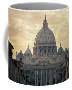 St Peter's Afternoon Glow Coffee Mug by Joan Carroll