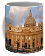 St. Peters Basilica Coffee Mug by Adam Romanowicz
