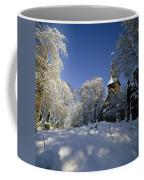 St Peter's Church In The Snow Coffee Mug