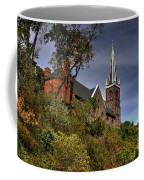 St. Peter's Of Harpers Ferry Coffee Mug by Lois Bryan
